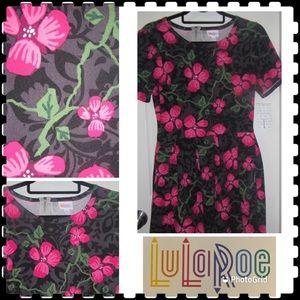 💐LOVELY 3x black & pink floral UNICORN Amelia